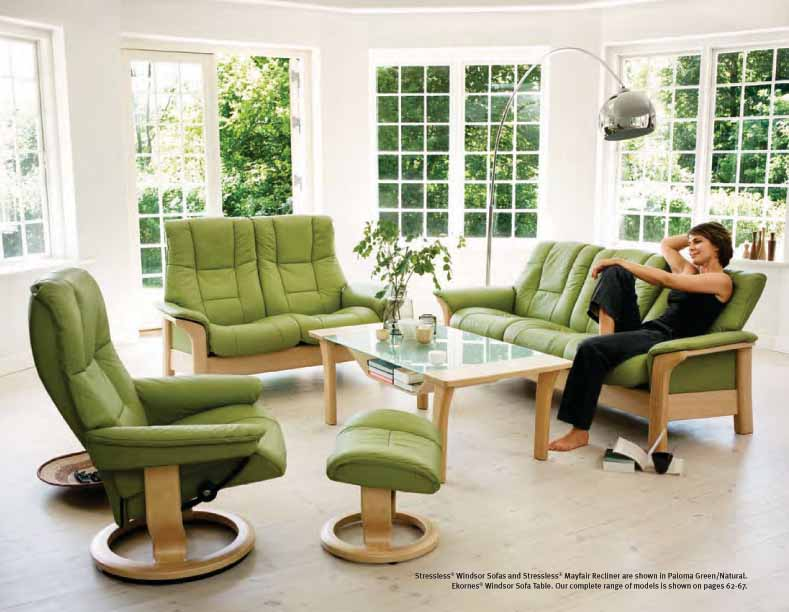 Stressless Paloma Green Leather Color Recliner Chair and Ottoman from Ekornes & Stressless Paloma Green Leather by Ekornes - Stressless Paloma ... islam-shia.org