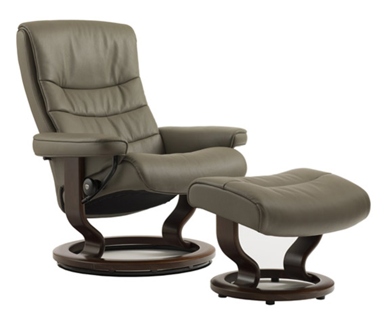 Stressless Nordic Small Recliner Chair and Ottoman by Ekornes  sc 1 st  Vitalityweb.com & Ekornes Stressless Nordic Recliner Chair Lounger and Ottoman ... islam-shia.org
