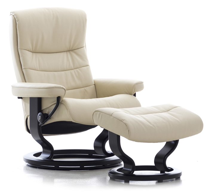 Stressless Nordic Large Recliner Chair and Ottoman by Ekornes  sc 1 st  Vitalityweb.com & Ekornes Stressless Nordic Recliner Chair Lounger and Ottoman ... islam-shia.org