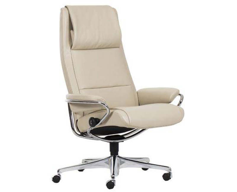 Stressless Paris High Back Office Desk Recliner Chair by Ekornes  sc 1 st  Vitalityweb.com & Ekornes Stressless Paris High Back Leather Office Desk Chair ... islam-shia.org