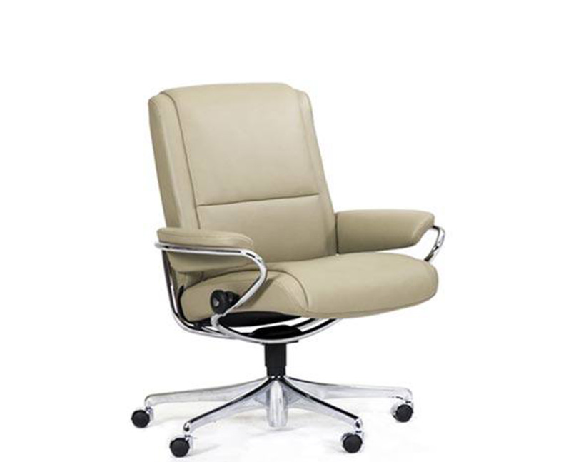 office recliners. stressless paris low back office desk recliner chair by ekornes recliners e