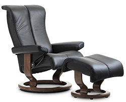 Stressless Piano LegComfort Power Footrest Recliner Chair