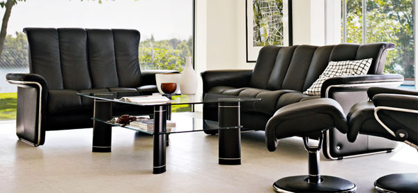 Ekornes Stressless Soul Low Back Sofa Loveseat Chair And