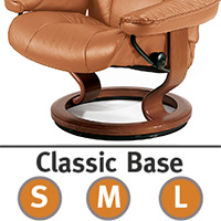 Stressless Piano Classic Hourglass Wood Base