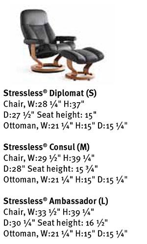 Stressless Consul Recliner Chair Ekornes Dimensions  sc 1 st  Vitalityweb.com & Ekornes Stressless Consul Chair. Consul Diplomat Ambassador ... islam-shia.org