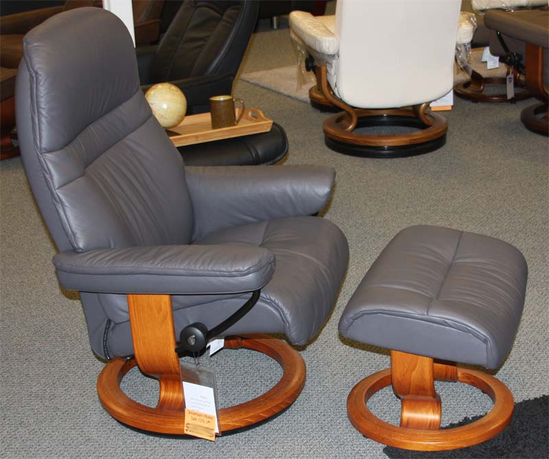Stressless Paloma Rock 09480 Leather from Ekornes