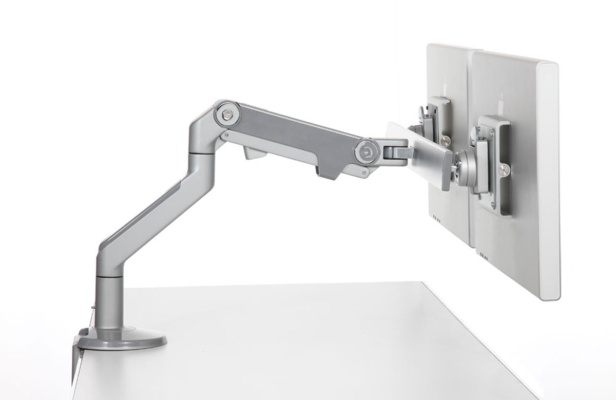 Humanscale M8 Monitor Arm Ergonomic Monitor Arms By