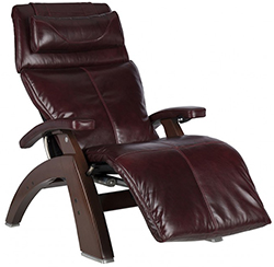 Human Touch PC-610 Omni-Motion Power Perfect Chair Recliner Burgundy Premium Leather
