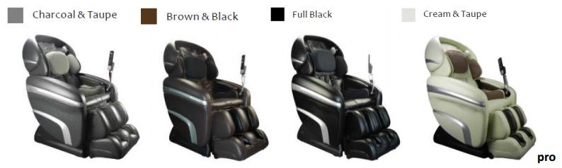 Osaki OS 3D Pro Dreamer Massage Chair Recliner Colors
