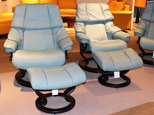 Stressless Paloma Aqua Green 09492 Leather Color from Ekornes