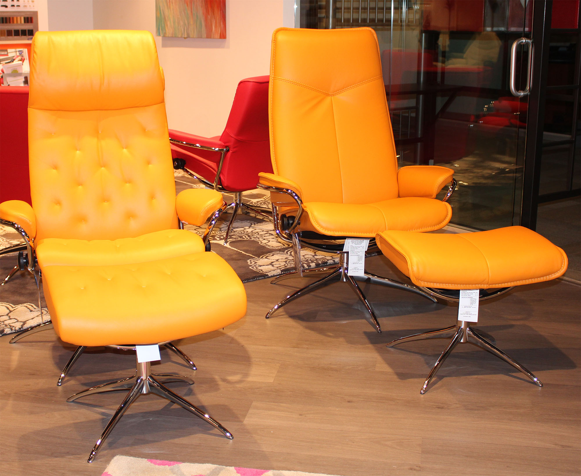 Stressless Paloma Clementine Leather by Ekornes Stressless