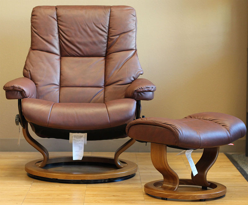 Stressless Paloma Cognac 09441 Leather By Ekornes