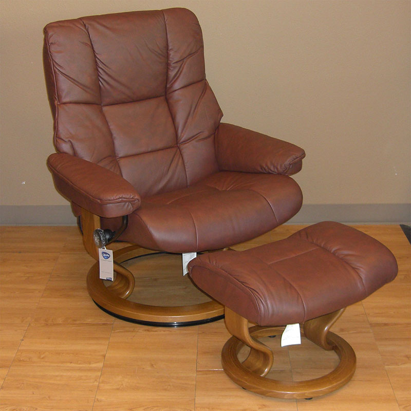 Stressless Kensington Paloma Cognac Leather Recliner and Ottoman & Stressless Kensington Paloma Cognac Leather by Ekornes ... islam-shia.org