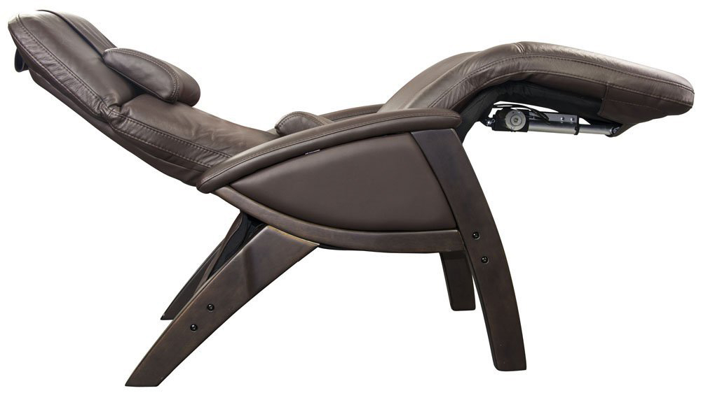 New Black Leather Svago Lusso Top Grain Zero Gravity Chair