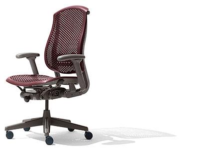 Herman miller celle home office ergonomic work chair for Silla herman miller