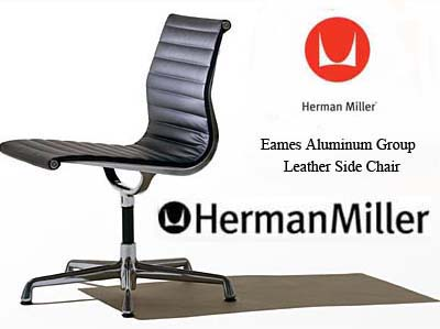 Eames Aluminum Group Side Office Task Desk Chairs by Herman Miller - Ergonomic Seating Aeron Chair by Herman Miller.  sc 1 st  Vitalityweb.com & Eames Aluminum Group Side Office Task Desk Chairs by Herman Miller ...