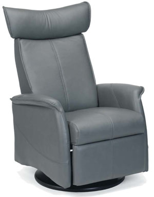 Fjords London Ergonomic Swing Recliner Chair Norwegian