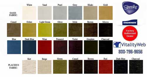 Stressless Oasis Fabric Colors