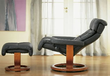 Stressless Memphis Recliner Chair and Ottoman Paloma Black with Cherry Wood Base & Ekornes Stressless Memphis Savannah Recliner Chair Lounger with ... islam-shia.org
