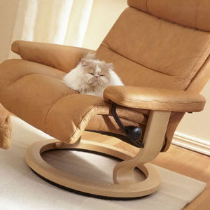 Ekornes Stressless Memphis Savannah Recliner Chair Lounger