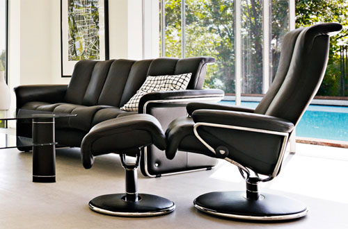 ekornes stressless blues recliner chair lounger ekornes stressless blues recliners stressless. Black Bedroom Furniture Sets. Home Design Ideas