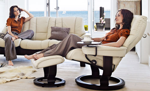 Stressless Chelsea Mayfair Kensington Recliner by Ekornes