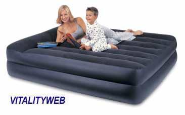 double decker air mattress AirBed Air Mattresses   Pump up air mattress in Twin, Double  double decker air mattress