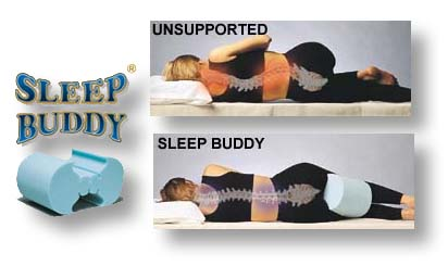 sleep buddy knee spacer spine reliever support cushions leg contour cushion for lower back. Black Bedroom Furniture Sets. Home Design Ideas